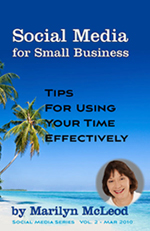 Vol 2:  Social Media for Small Business:  Tips for Using Your Time Effectively by Marilyn McLeod